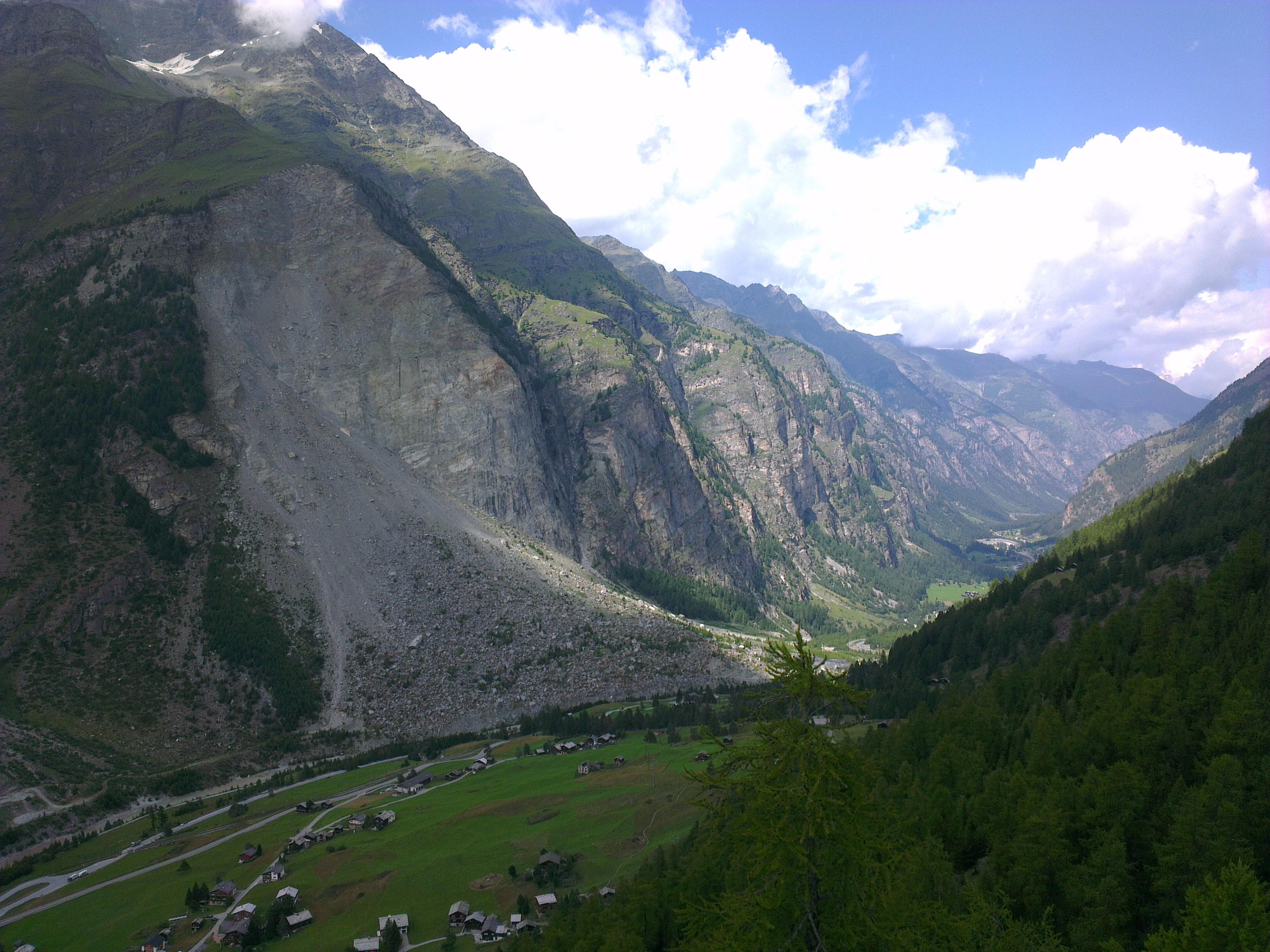 Ongoing instability of the Randa rock slope (Switzerland ...